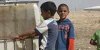 Bedouin boys in the Negev